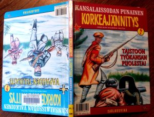 Korkeajännitys-seriemagasinets serie om inbördeskriget 1918 ur såväl de rödas som de vitas synvinkel.