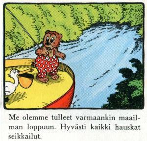 Rasmus Nalle maailmanlopussa