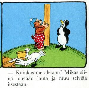 Rasmus Nalle ranektaa radioasemaa