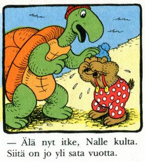Rasmus Nalle itkee