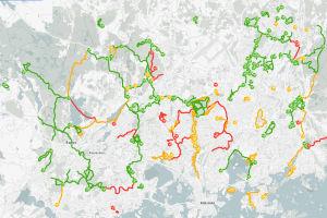 Skärmklipp från sajten ulkoliikunta.fi