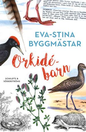 "Pärmen till Eva-Stina Byggmästars poesibok ""Orkidébarn""."