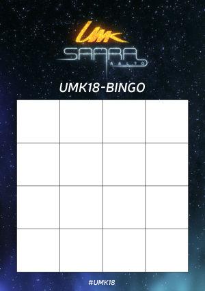 Umk18 bingo