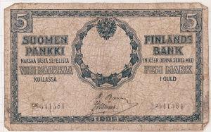 Väärennetty seteli vuonna 1918