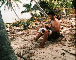 Tom Hanks i filmen Cast Away.