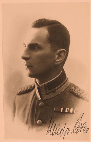 Hangon suojeluskunnan päällikkö, eversti Ulrich von Coler.