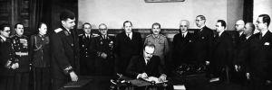 YYA-sopimuksen allekirjoitus