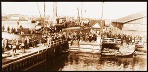 Kapinallisia poistetaan kotiseudultaan Uuraalla 3.5.1918.