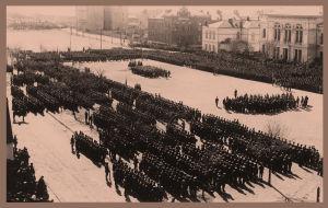 Paraati Viipurissa 1.5.1918.