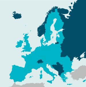 EU år 2018, inlusive Storbritannien (dvs före brexit)