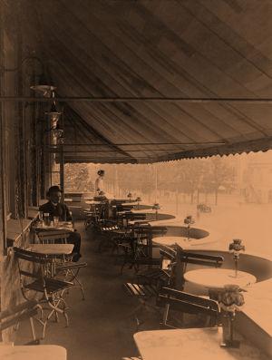 Ravintola Gradinin terassi 1915