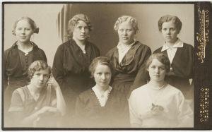 Kansalliskuoron laulajia 1914.