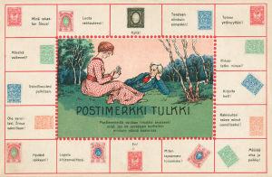 Postkort fråmn sekelskiftet 1800-1900.