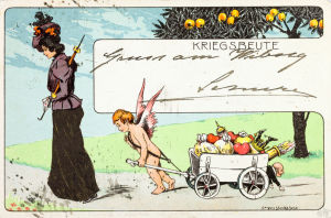 Postkort från sekelskiftet 1800-1900.