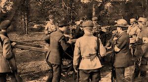 Algot Untola haudataan Santahaminaan 1918.