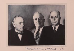 Kalterijääkärien johtokunta vuonna 1956.