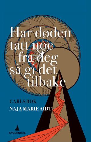 """Pärmen till Naja Marie Aidts bok """"Har döden tagit något ifrån dig så ge det tillbaka""""."""
