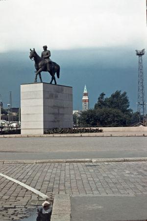 Mannerheims staty 1962.