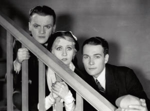 James Cagney, Joan Blondell ja Edward Woods elokuvassa Yhteiskunnan vihollinen