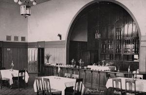 Rajajoen aseman 2. luokan ravintola.