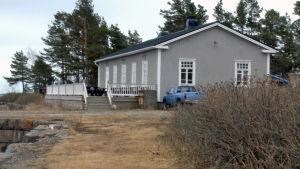 Nyrenoverat soldathem på Rysskär