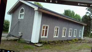 Renoverad sjukstuga på Rysskär