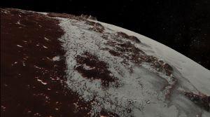 Sputnik Planitia (f.d. Planum) på Pluto.