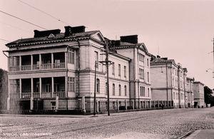 Viipurin lääninsairaala 1920-30-luvulla.