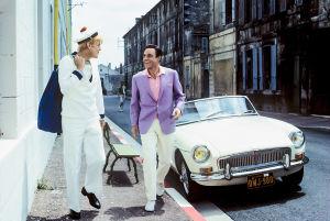 Maxence (Jacques Perrin) ja Andy Miller (Gene Kelly) elokuvassa Rochefortin tytöt