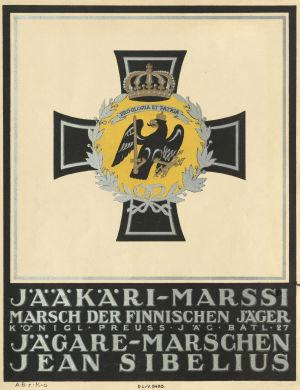 Jääkärimarssin nuotti 1918