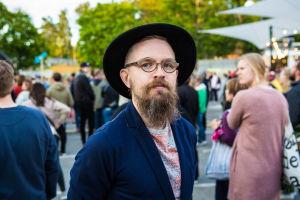 Kuva henkilöstä Sideways-festivaaleilla