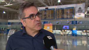 Konstantinos Tsegas är general sekreterare vid den grekisk statliga turistmyndigheten