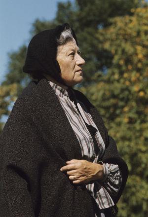 Elsa Eriksson (Valborg) i Stormskärs Maja