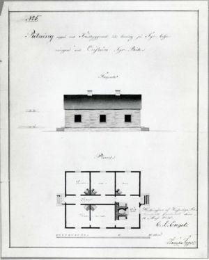 Isonkarin ulkorakennuksen piirustukset