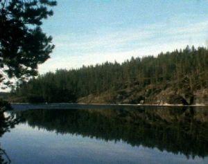 Alueen järvet ovat kirkasvetisiä ja puhtaita.