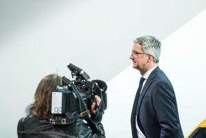 Audis vd Rupert Stadler häktades i juni 2018 som ett led i letandet efter bevis i utredningen kring dieselskandalen i Tyskland.