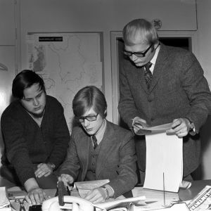 Pekka Laine, Ossi Kervinen, Jarmo Ratinen Uudenmaan aluetoimitus 1970
