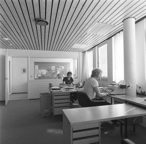 Markku Mankki ja Hannu Sironen Lappeenrannan toimituksessa 1972