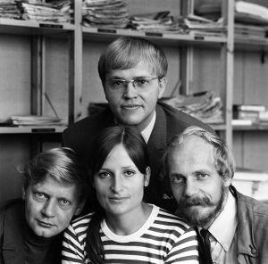 entti Paavilainen, Eva Polttila, Esko Riihelä, Matti Oksanen, Uudenmaan aluetoimitus 1969