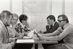 Rovaniemen radion toimituskokous 1971