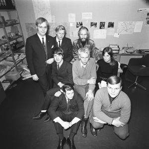 Pentti Paavilainen, Eva Polttila, Esko Riihelä, Matti Oksanen, Uudenmaan aluetoimitus 1969