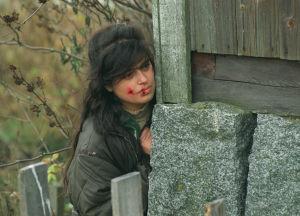 Katja Lumberg tv-sarjassa Tumma ja hehkuva veri