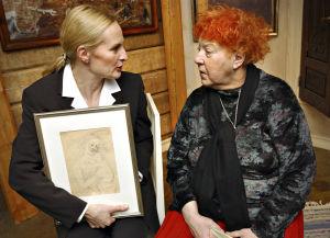 Sara Paavolainen ja Claire Aho (2002).