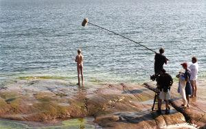 Tv-draama Vennyn kuvauksissa (2002).