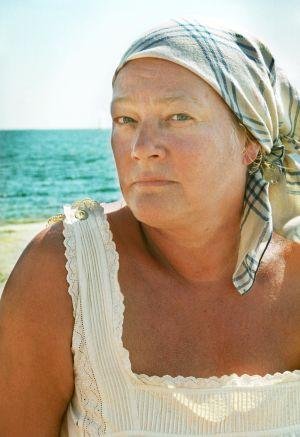 Marja-Leena Kouki (Himmu) tv-draamassa Venny (2003).