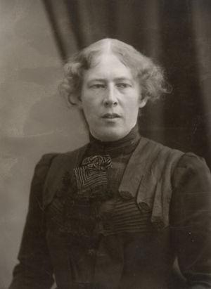 Venny Soldan-Brofeldt 1900-luvun alussa.