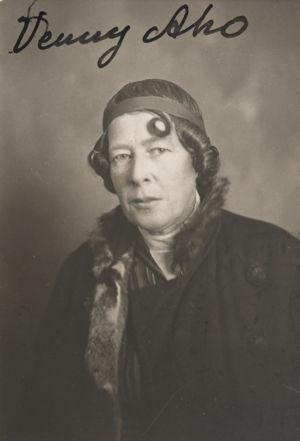 Venny Soldan-Brofeldt (1920-luku).