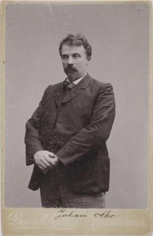 Juhani Aho (kuva otettu välillä 1890–1900)