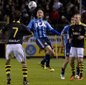 Mellan åren 2003-2012 spelade Daniel Sjölund för Djurgårdens IF.