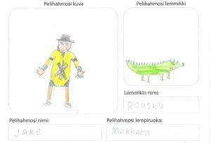 Pikku Kakkosen Game Jam: piirros